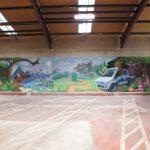 Rabbie's mural 2018
