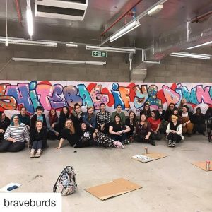 Spectrum Arts | Brave Burds Graffiti Workshop