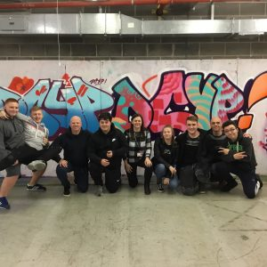 Spectrum Arts | Graffiti workshop with DYCP