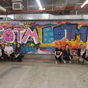 Spectrum Arts | H&M Employee of the Month Graffiti Workshop